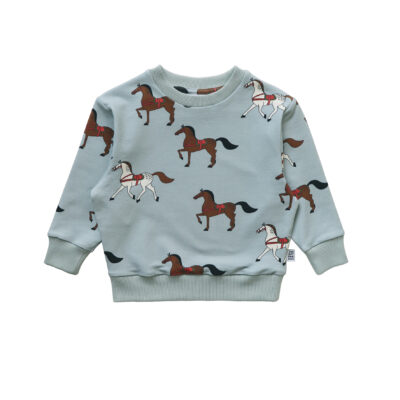one day parade sweater horses