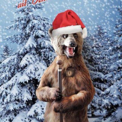 kerstgroeten uit Venlo beer Steijl