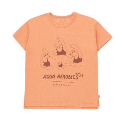 tiny cottons aqua aerobics t-shirt
