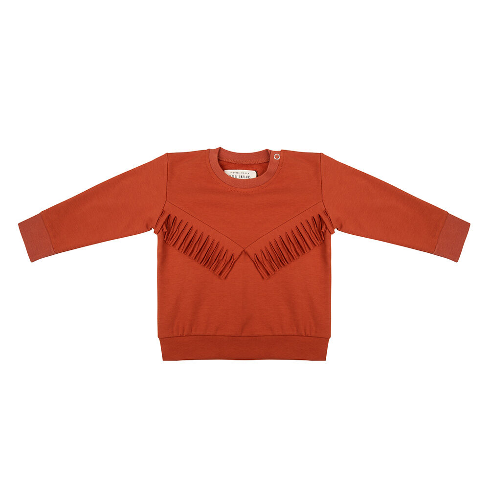 little Indians boho sweater picante biologisch katoen