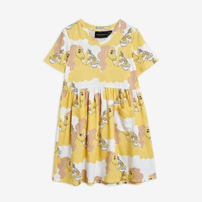 mini rodini unicorn dress recycled polyester