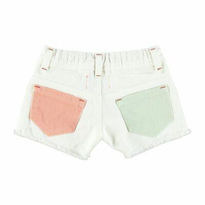 piupiuchick high waist shorts tricolors