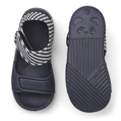 liewood blumer sandalen navy/sandy