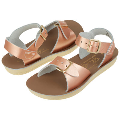 salt-water sandals surfer Rose Gold
