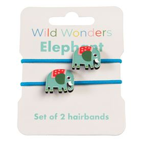 rexlondon haarelastiek olifant / elephant 2 stuks