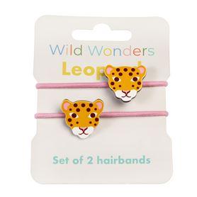 rexlondon haarelastiek luipaard / leopard