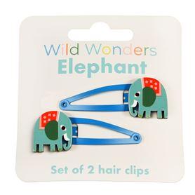 rexlondon haarspeldjes olifant / elephant