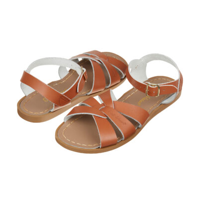 salt-water leren sandals original tan