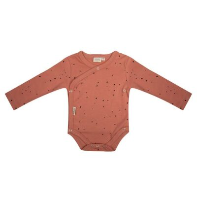 little Indians overslag romper cayon clay