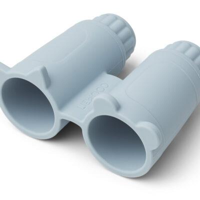 liewood Rikki binoculars sea blue, bijtring.