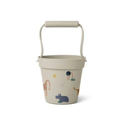 liewood Linda bucket safari sandy mix