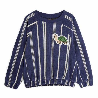 mini rodini badstof trui met schildpad patch