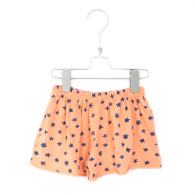 lötiekids loose shorts salmon flowers