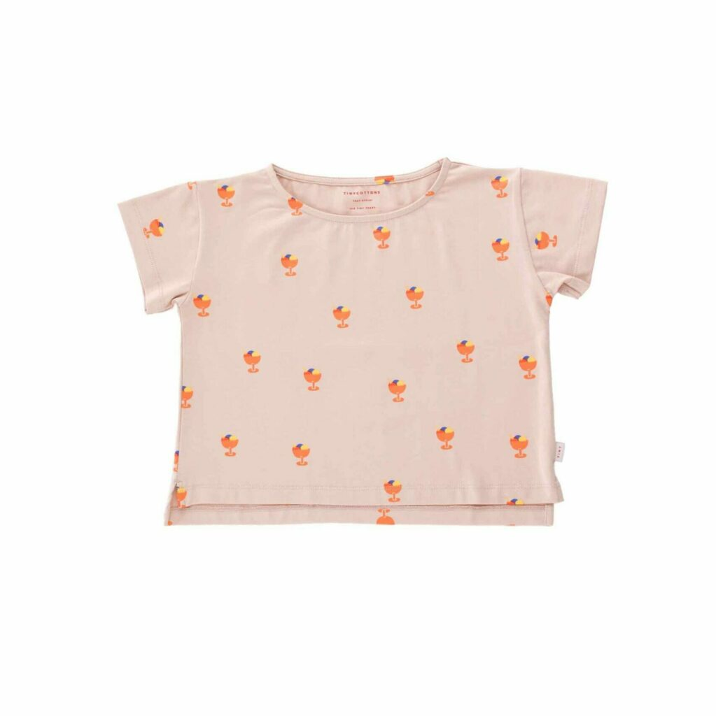 tiny cottons ice cream cup crop t-shirt